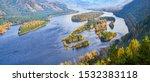 Autumn View. The Yenisei River...