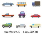 cars. vector set for you design | Shutterstock .eps vector #153263648