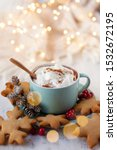 Hot Winter Drink  Chocolate...