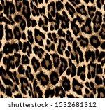 Leopard Skin Pattern. Textures...