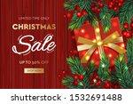 christmas sale banner.... | Shutterstock .eps vector #1532691488