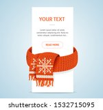 winter concept banner with... | Shutterstock .eps vector #1532715095