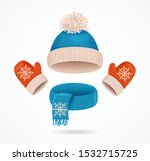 realistic 3d detailed hat  blue ...   Shutterstock .eps vector #1532715725