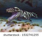 Prehistoric Crocodile...
