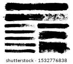 brush strokes. vector... | Shutterstock .eps vector #1532776838