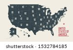map of the united states of... | Shutterstock .eps vector #1532784185