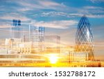 abstract morning background... | Shutterstock . vector #1532788172