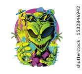 Alien Summer Graphic Design...