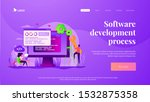 programming and coding  website ... | Shutterstock .eps vector #1532875358