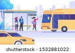city transportation means flat... | Shutterstock .eps vector #1532881022