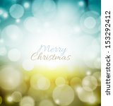 abstract christmas background | Shutterstock .eps vector #153292412