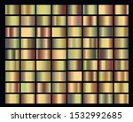 big set with gradients with... | Shutterstock .eps vector #1532992685