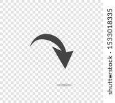 arrow pointing down. arrow...