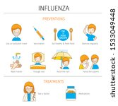 man with influenza preventions...   Shutterstock .eps vector #1533049448
