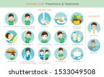 man with common cold... | Shutterstock .eps vector #1533049508