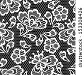 old lace seamless pattern ... | Shutterstock .eps vector #153308426