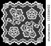 vintage lace frame  abstract... | Shutterstock .eps vector #153308432