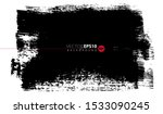 vector hand drawn big brush... | Shutterstock .eps vector #1533090245