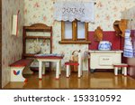 Detail Of Retro Living Room In...