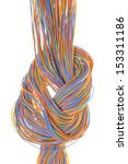 colorful cable of...   Shutterstock . vector #153311186