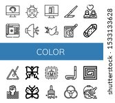 Set Of Color Icons. Such As...