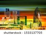 abstract motion blur green... | Shutterstock . vector #1533137705