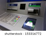 atm machine. image include... | Shutterstock . vector #153316772