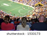 watching the game from up high | Shutterstock . vector #1533173