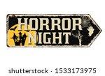 horror night  vintage rusty... | Shutterstock .eps vector #1533173975