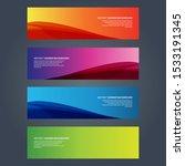vector abstract design banner... | Shutterstock .eps vector #1533191345