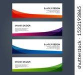 vector abstract design banner... | Shutterstock .eps vector #1533193865