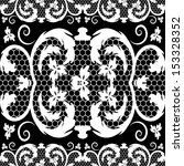 vector vintage lace | Shutterstock .eps vector #153328352