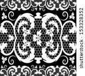 vector vintage lace | Shutterstock .eps vector #153328352