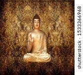 Golden Buddha 3d Wallpaper For...