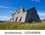 Abandoned Wood Frame Home ...