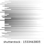 speed lines in arrow form .... | Shutterstock .eps vector #1533463805