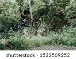 Mountain Bike Racer In Mid...