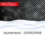 vector illustration. winter... | Shutterstock .eps vector #1533525938