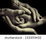 family hands | Shutterstock . vector #153353432