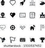 art vector icon set such as ... | Shutterstock .eps vector #1533537452