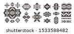 set of tribal decorative... | Shutterstock .eps vector #1533588482