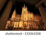 Colorful Gothic St. Vitus'...