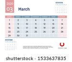 design concept layout march...   Shutterstock .eps vector #1533637835