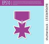 retro purple military reward... | Shutterstock .eps vector #1533690698