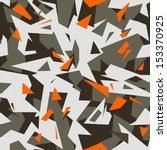 modern cool camouflage | Shutterstock .eps vector #153370925