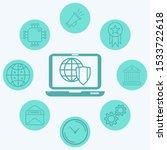 internet security vector icon... | Shutterstock .eps vector #1533722618