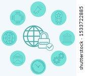 internet security vector icon... | Shutterstock .eps vector #1533722885