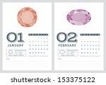 2014 Calendar  Birthstones...