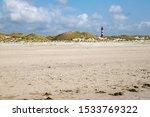 The Amrum Lighthouse Behind...