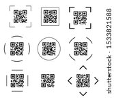 scanning black round simple...